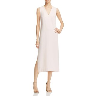 French Connection Womens Essien Wear to Work Dress V Neck Side Slit (3 options available)