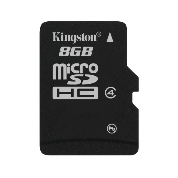 Kingston Sdc4/8Gbsp Digital 8Gb Microsdhc Class 4 Flash Memory Card