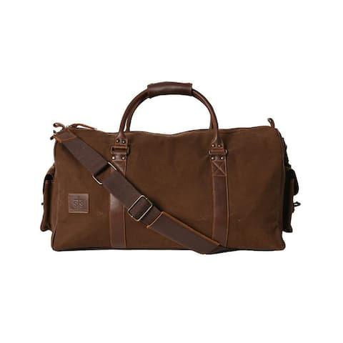 StS Ranchwear Western Bag Adult Foreman Duffle Chocolate - 23 x 12.25 x 11.5