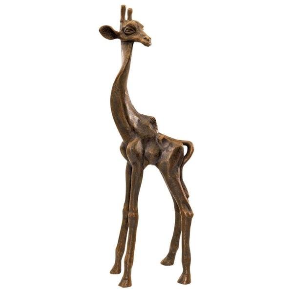 Design Toscano The Graceful Giraffe Sculpture
