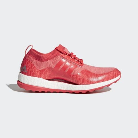Adidas Women's Pureboost XG Coral/Coral/White Golf Shoes F33660