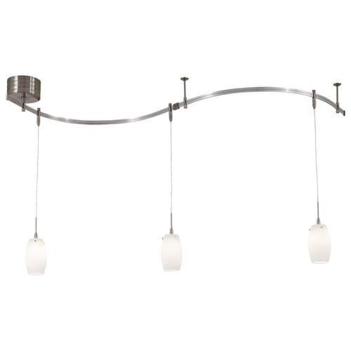 Kovacs GK P8003-1 3 Light Contemporary / Modern Monorail Mini Pendant Kit from the GK LIGHTRAIL? Series