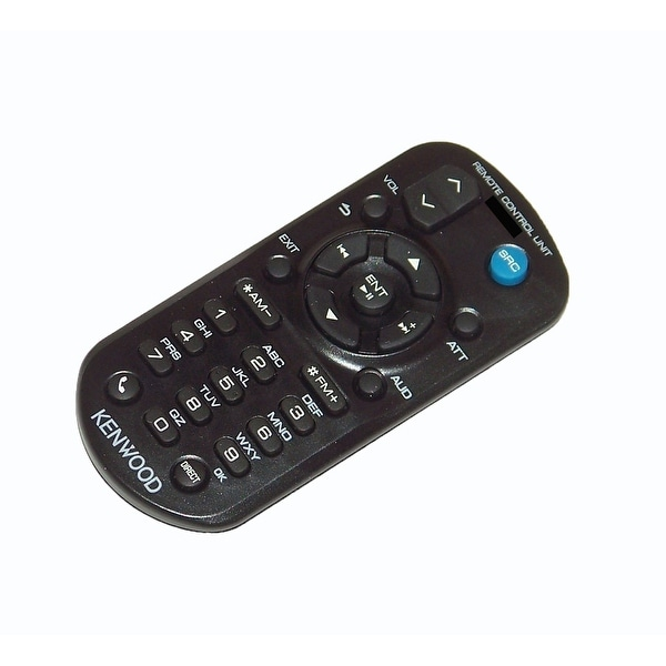 OEM Kenwood Remote Control Originally Supplied With: KDCX396, KDC-X396, KDCX494, KDC-X494, KDCX496, KDC-X496