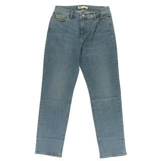 Levi's Womens 512 Straight Leg Jeans Slimming High-Waist
