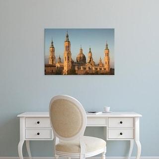 Easy Art Prints Walter Bibikow's 'Sunrise' Premium Canvas Art