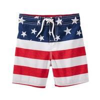 OshKosh B'gosh Little Boys' Americana Swim Trunks