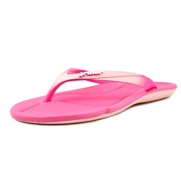 Rider Smoothie II Women Open Toe Synthetic Pink Thong Sandal