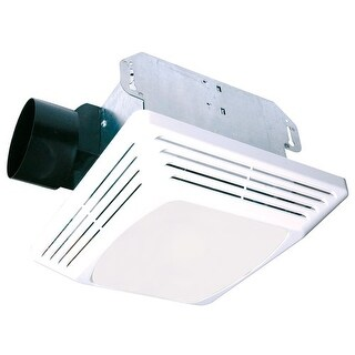 Air King ASLC50 50 CFM HVI Certifified 3.0 Sone Exhaust Fan with Light from the