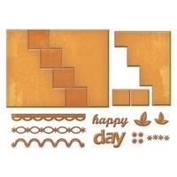 Happy Days - Spellbinders Card Creator Step Card
