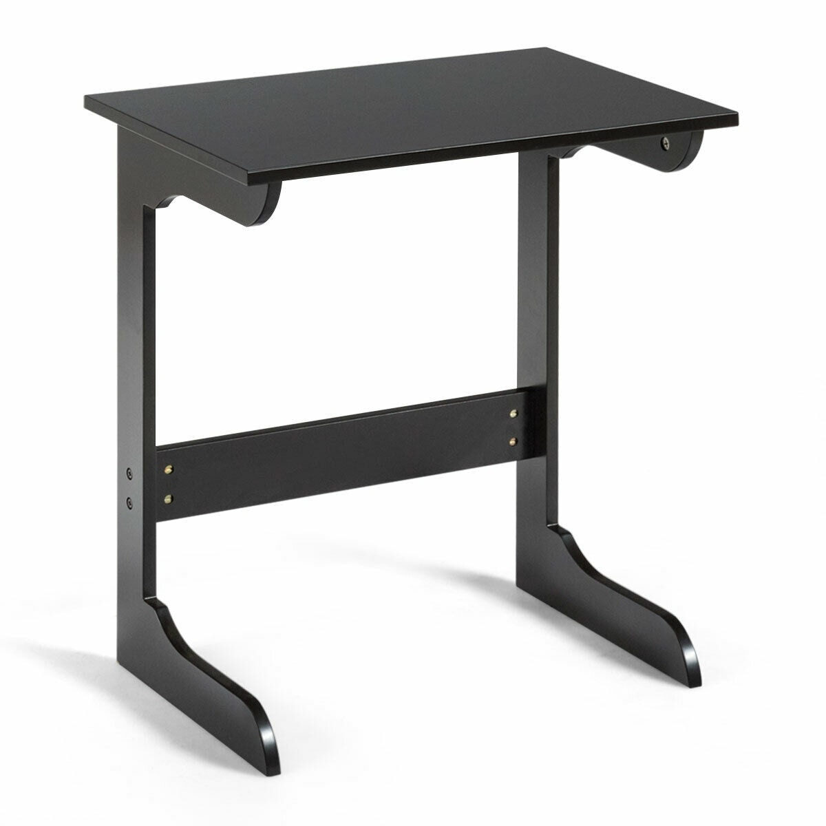 Gymax Sofa Side Table End Snack