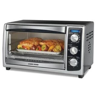 Spectrum Brands To1675b Bd 6-Slice Convection Countertop Toaster Oven