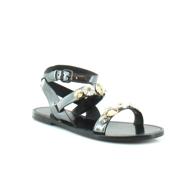 Coach Eleanor Women's Sandals & Flip Flops Gunmetal - 9
