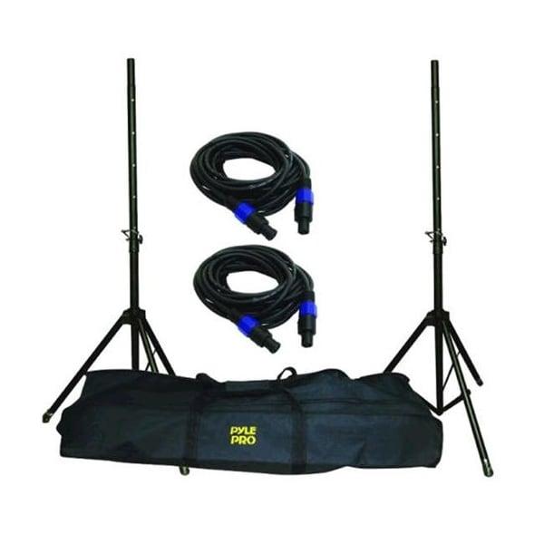 Pyle Pro Speakon Speaker Stand Kit - PMDK101