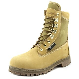 "Wolverine 8"" Gore-Tex Men EW Round Toe Leather Gold Work Boot"