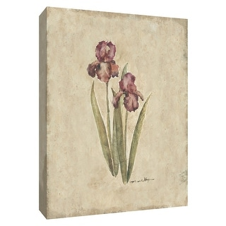 "PTM Images 9-154680  PTM Canvas Collection 10"" x 8"" - ""Springtime Iris"" Giclee Irises Art Print on Canvas"