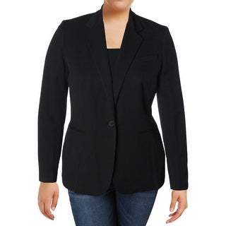 Lauren Ralph Lauren Womens One-Button Blazer Twill Notch Collar (More options available)