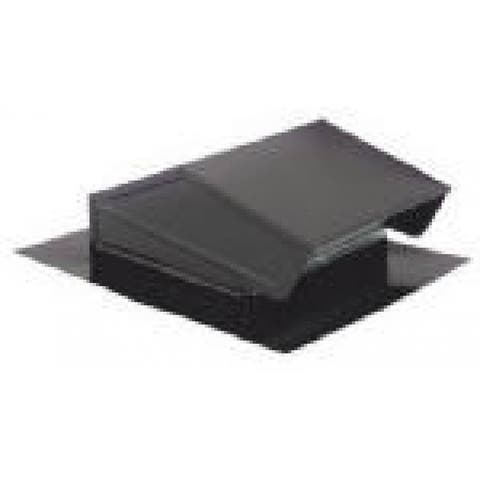"Broan 636 Roof Cap, 3"" or 4"" Round Duct, Steel with Baked Black Finish"