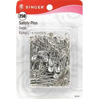 Sizes 0 To 2 250/Pkg - Safety Pins