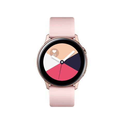Samsung Galaxy Active Smartwatch 40mm, Rose Gold(Certified Refurbished)