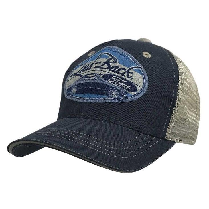 4b738833f Laid-Back Men's Halfway Mustang Softee Hat Baseball Cap Ford Car LB13896SMT