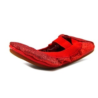 Yosi Samra Mary Jane Toddler Round Toe Synthetic Red Mary Janes