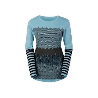 Kerrits English Shirt Womens Top Line L/S Chevron Horseshoes 40581