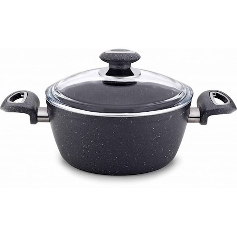 Ndale Non-Stick Stainless Steel Soup Pot with Lid