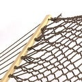 Sunnydaze Caribbean XL Rope Hammock with Spreader Bars & Hammock Stand - Thumbnail 13