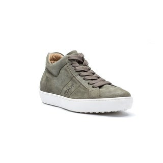 Tod's Men's Suede Allaciato Fondo Casseta Ungru Sneaker Shoes Brown