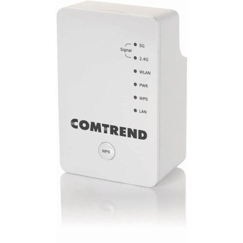 """""""Comtrend WAP-5920 Comtrend WAP-5920 IEEE 802.11ac 750 Mbit/s Wireless Range Extender - 2.40 GHz, 5 GHz - 2 x Antenna(s) - 2 x"""