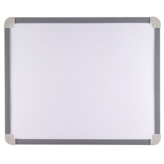 School Smart Magnetic Dry Erase Board, Small, 17-1/4 x 14-1/2 Inches, Aluminum Frame