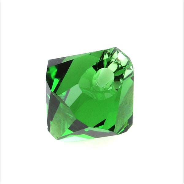 Swarovski Elements Crystal, 6328 Bicone Beads 6mm, 10 Pieces, Dark Moss Green
