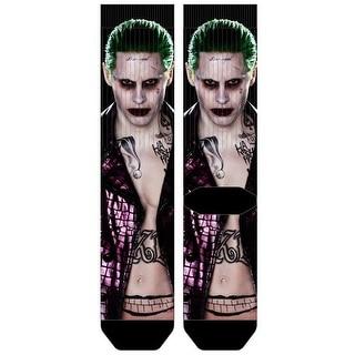 Suicide Squad The Joker Premium Sublimated Crew Socks