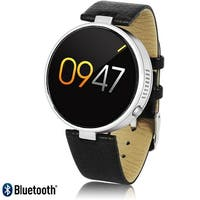 Stylish Unisex M365 Bluetooth SmartWatch For iPhone & Android (SIRI 3.0 + Heart Rate Pulse Sensor + Pedometer)