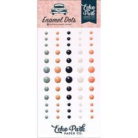- Just Married Adhesive Enamel Dots 60/Pkg