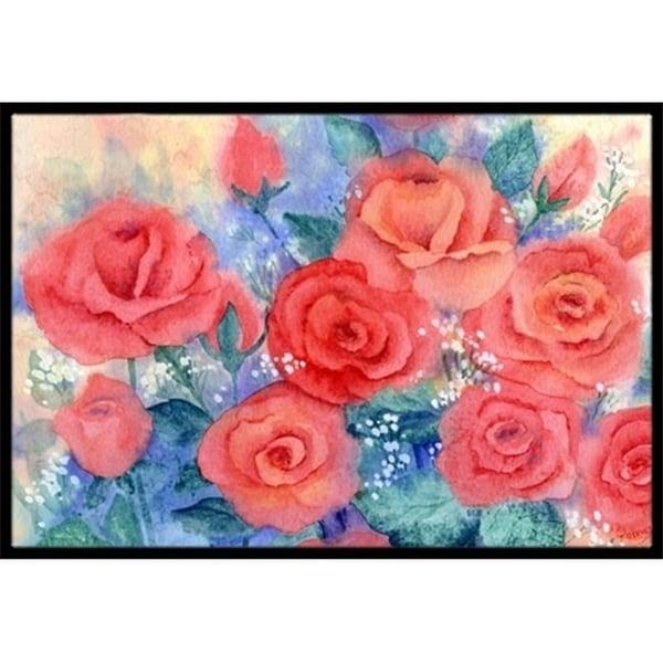 Carolines Treasures IBD0251JMAT Roses Indoor or Outdoor Mat 24 x 36