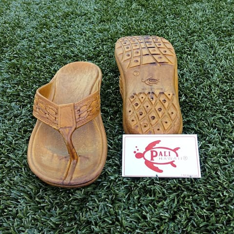 0d6c9067a27d Pali Hawaii SHAKA BROWN Sandals with Certificate of Authenticity