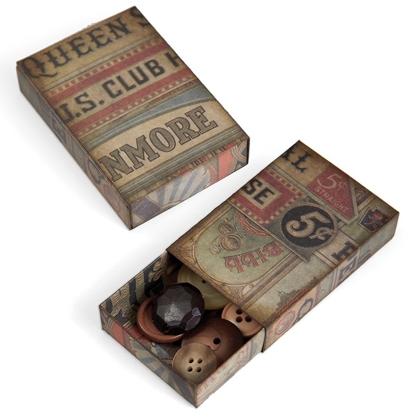 "Sizzix Movers & Shapers Large Base Die By Tim Holtz 6""X8.75""-Matchbox"