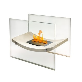 Anywhere Fireplaces 90209 Broadway Biege Indoor/Outdoor Fireplace
