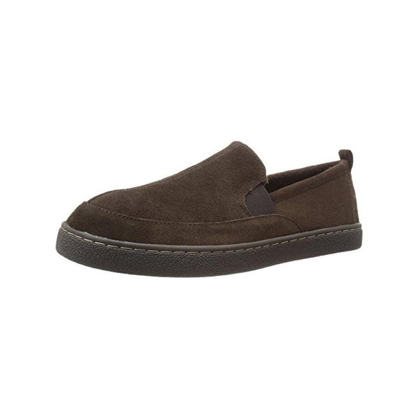 L.B. Evans Mens Kobbin Loafers Suede Slip On - 8 medium (d)