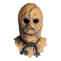 Scarecrow Costume Mask - Brown