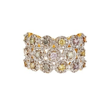 14K Gold Multi Diamond Ring