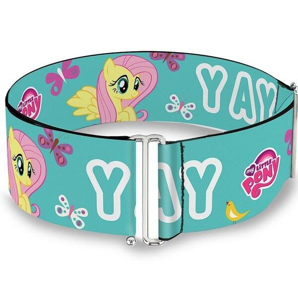 Yay W Fluttershy Aqua Cinch Waist Belt ONE SIZE