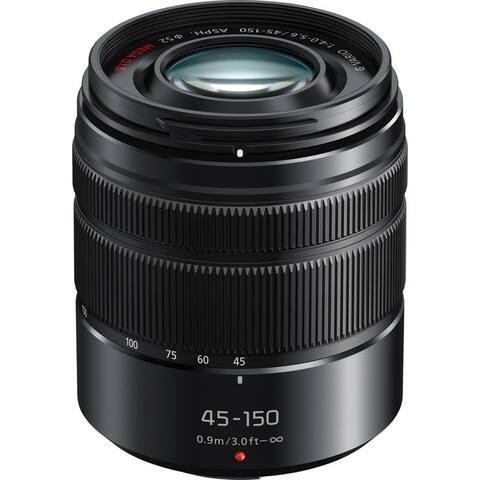 Panasonic LUMIX G VARIO 45-150mm H-FS45150 Lens with Matte Finish - black