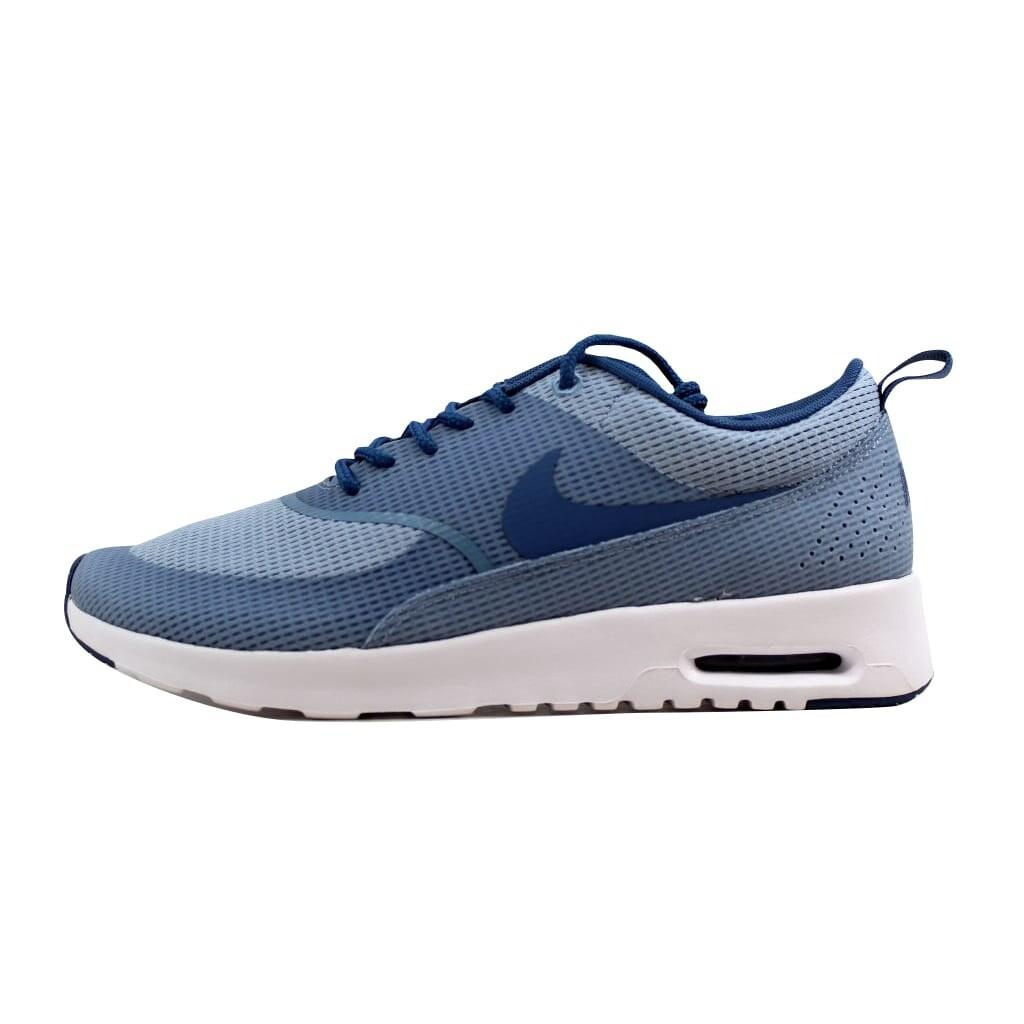 Nike Women's Air Max Thea TXT Blue GreyOcean Fog White 819639 400 Size 9.5
