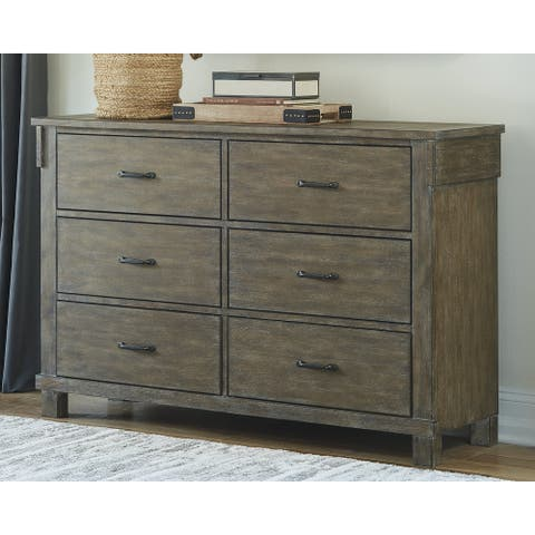 Shamryn Grayish Brown Dresser