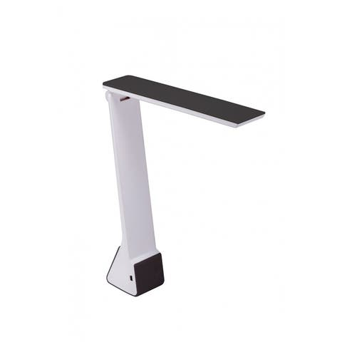 Bostitch Konnect Battery Powered LED Desk Lamp, Black