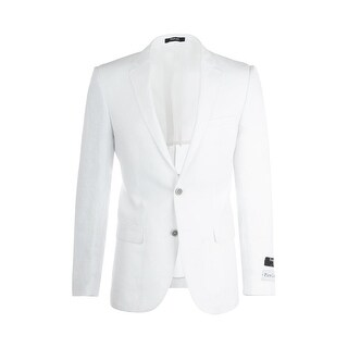 Sienna White Slim Fit, Linen Jacket by Tiglio Luxe RS5620/10