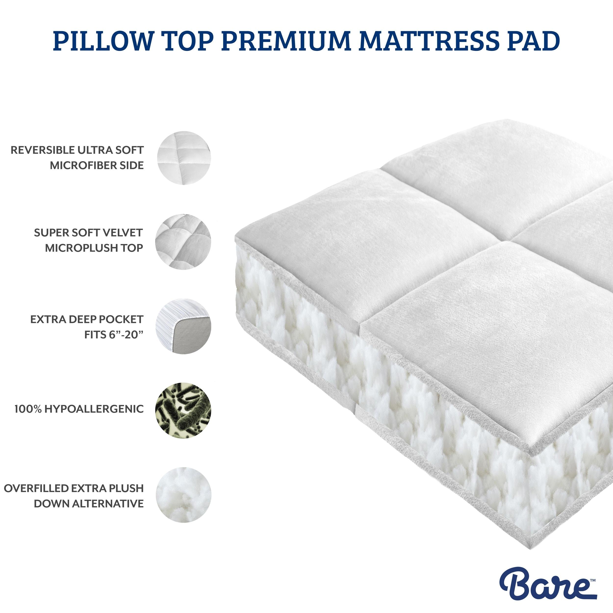 Pillow Top Mattress Pad