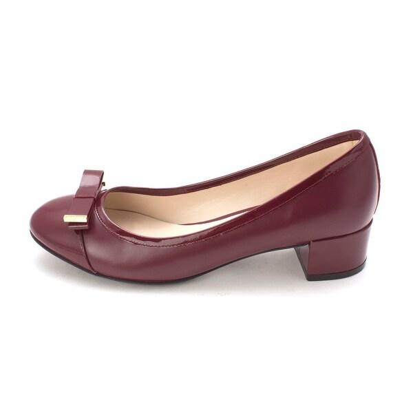 Cole Haan Womens 14A4131S Cap Toe Classic Pumps, Tawny Portt, Size 6.0
